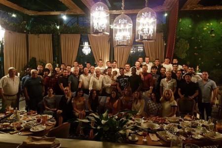 Курбан Бердыев провёл прощальный ужин сигроками «Ростова»