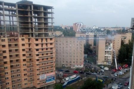 Из-за пожара вдевятиэтажке наШтахановского эвакуировали 20 человек